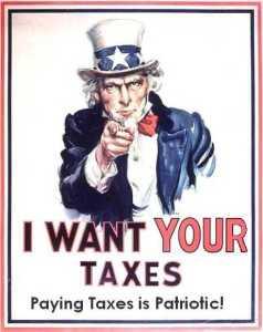 Uncle Sam Taxes