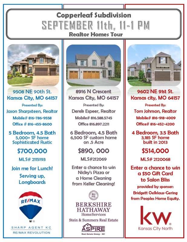Copperleaf Realtor Homes Tour